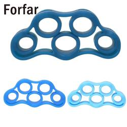 Forfar finger rehabilitation grip strengthener training silicone ring expander.jpg 250x250