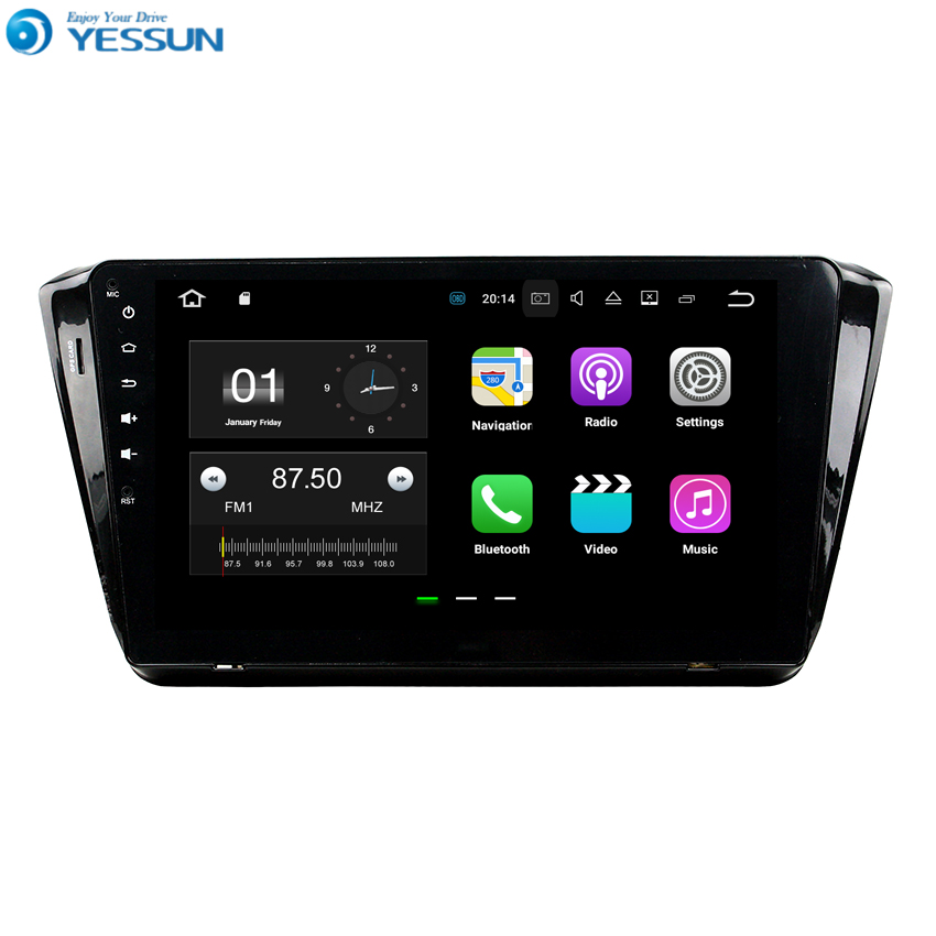 YESSUN For Skoda Superb 2014~2017 Android Car Navigation GPS HD Touch Screen Stereo Player Multimedia Audio Video Radio NO DVD