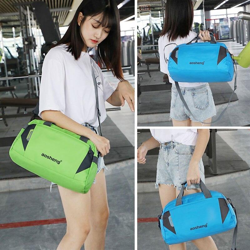 Image 5 - Scione Travel Luggage Handbags Women High Quality Sport Duffel Shoulder Bags Men Simple Casual Fitness Outdoor Crossbody BagTop-Handle Bags   -
