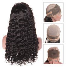 Water Wave Wig 360 Lace Frontal Wigs With Baby Hair 150% Density Remy Lace Front Human Hair Wigs For Women Peruvian Hair