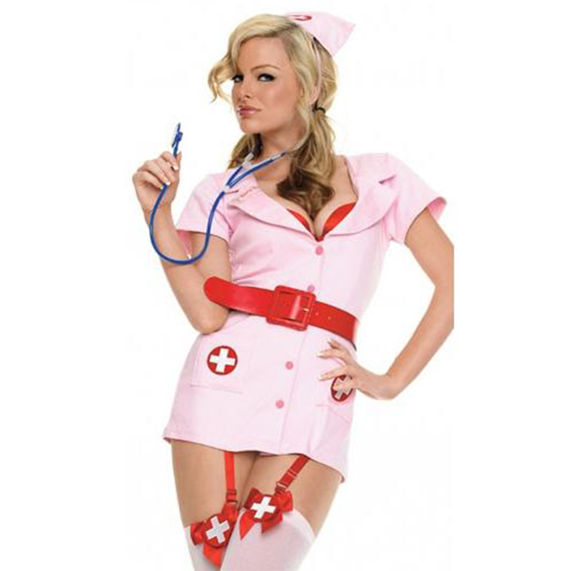 Ready Stock Christmas Costume Sexy Cute Adult Girls Red Dr