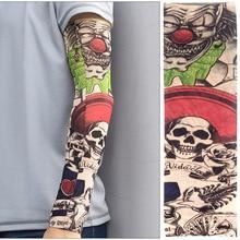DANKEYISI спортивные тату рукава УФ-крутые рукава для рук Велоспорт Бег рука грелка S рукава высокие эластичные нейлоновые