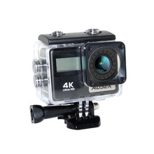 AT-36DR 4K 30FPS 170 Degree Wide Angle Ultra HD 2 Inch LCD Touch 30M Waterproof WIFI Remote FPV Action Camera Mini Sports Cam