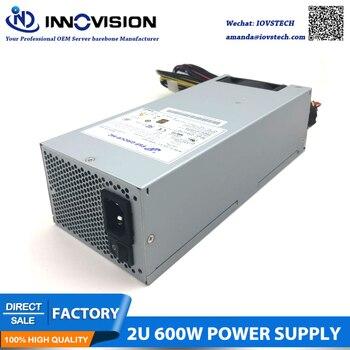 2u server power supply FSP600-702UH 600w Dual 8pins 80Plus active psu 2u 6 disk hot plug server chassis rm21706 2u industrial chassis