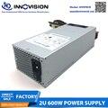 2u servidor power supply FSP600-702UH 600w psu Dupla pinos 80 8 Mais ativo