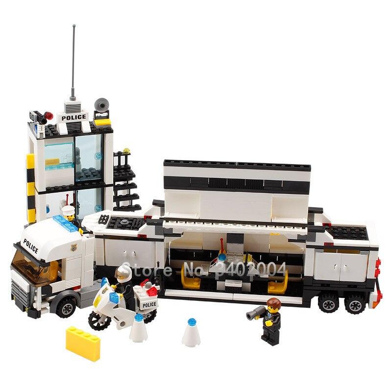 511 Unids Legoings Ciudad Estación de Policía Modelo Bloques de - Juguetes de construcción - foto 4