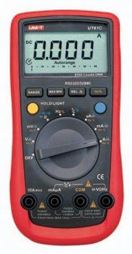 ФОТО UNI-T UT-61C Modern Digital Multimeters UT61C AC DC Meter Free shipping