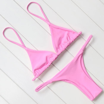Sexy Brazilian Push Up Bikini Swimwear Women Micro Swimsuit B1565 6