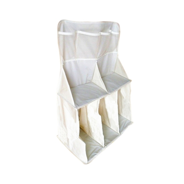 Convenient Baby Bed of Head Bag Baby Diaper Large Miscellaneously Bedding Organizer Storage Bags Bed Hanging