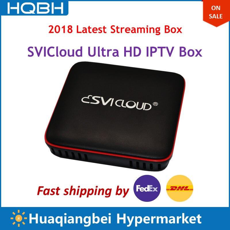 Singapour Starhub Fiber TV Boîte SVICloud UHD IPTV Set Top Box Avec CH HK SG MON USA ROYAUME-UNI Chaînes Indiennes remplacer Câble Boîte Box Astro