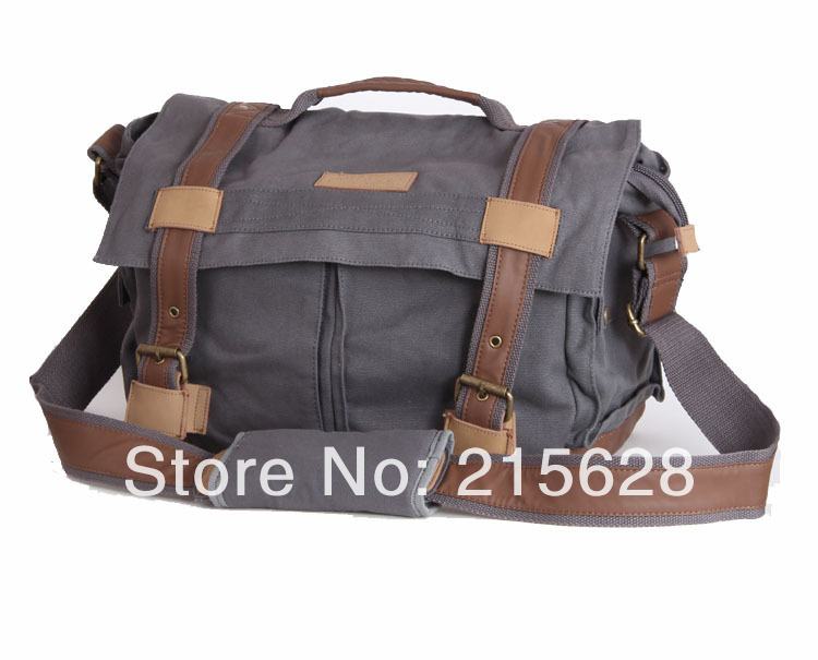 Professional waterproof canvas DSLR camera bag photo Travel Shoulder digital SLR backpack for canon Nikon Olympus Pentax BBK-3