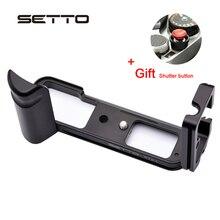 Setto 퀵 릴리스 l 후지 필름 X T2 xt2 수직 형 퀵 릴리스 플레이트 손잡이 홀더 용 플레이트/l 브래킷