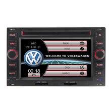 wince6.0 double din for Volkswagen VW PASSAT B5 Golf 4 polo bora multimedia Car dvd Radio Gps Steering Wheel Control Bluetooth