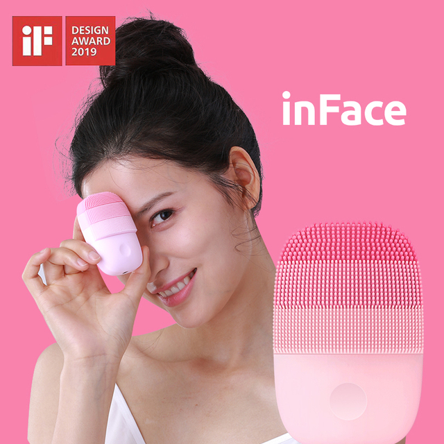 Xiaomi inFace Small Cleansing Instrument Deep Cleanse Sonic Beauty Facial Instrument Cleansing Face Skin Care Massager
