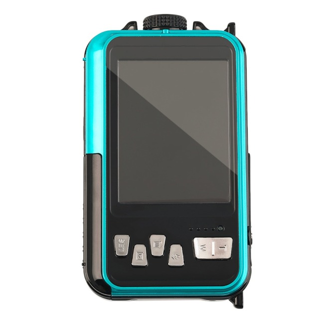 2.7inch TFT Digital Camera Waterproof 24MP MAX 1080P Double Screen 16x Digital Zoom Camcorder HD268 dropshipping