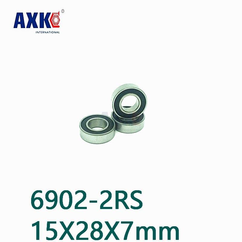 6902-2RS  SI3N4 Ball 15*28*7mm HYBRID Ceramic Bearing 1pc new