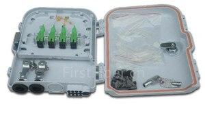 Image 2 - Firstfiber ftth 8 코어 섬유 종료 상자 8 포트 8 채널 분배기 상자 실내 야외 섬유 광 분배기 상자 ftb abs