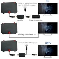 פריוויו antena דיגיטלי 2pcs מקורה טלוויזיה אנטנה דיגיטלי DVB-T / FM פריוויו אוויר פעיל PC מגבר עבור טלוויזיה HDTV 1080P דיגיטלי אלחוטי וטלוויזיה Antena (5)