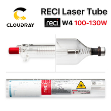 Cloudray Reci W4 100W CO2 Laser Tube Wooden Case Box Packing Length 1400 Dia 80mm for