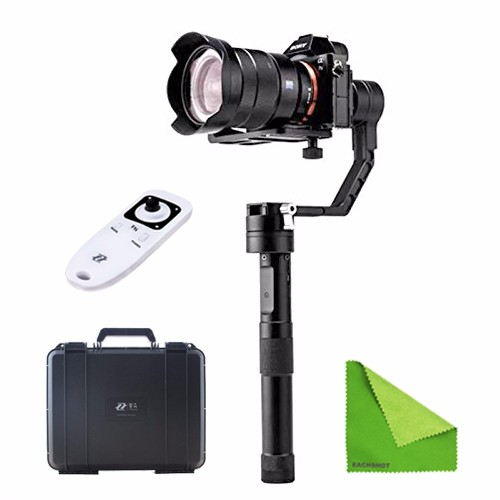 Zhiyun Crane + Remote 3-axis Stabilizer Handheld Gimbal for Canon Nikon Sony Alpha 7 for Panasonic DSLR + Cleaning Cloth