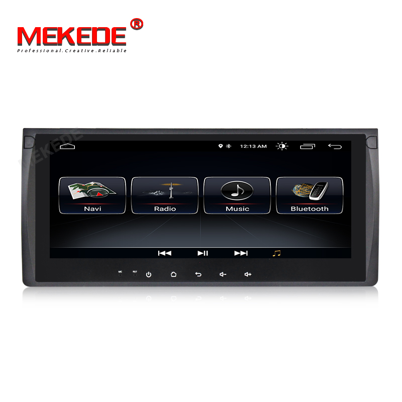 MEKEDE 10 25inch Android 8 1 Car DVD PLAYER For BMW X5 E53 E39 GPS stereo