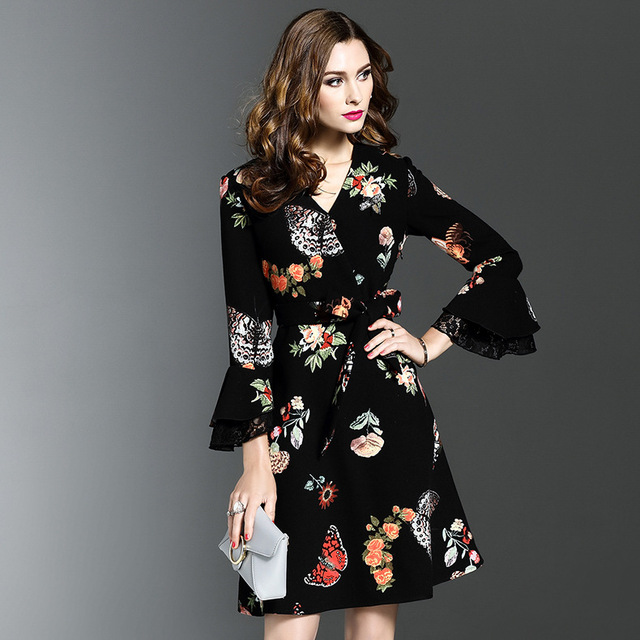 #Girl #Fashion #Dress #Women #Sexy V-Neck Party Dress #Spring #Summer #boygrl 4