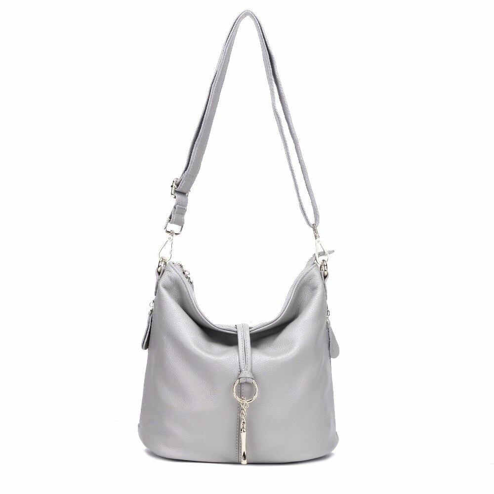 AODUX 2018 New 12 Colors Fashion Designer 100% Genuine Leather Women Small Shoulder Bag Tote Handbag Ladies Messenger Bag Purse Lahore