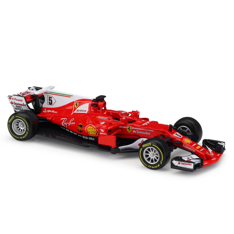 1:43 Scale 2018 Metal F1 Formula 1 Racing Car Model SF16H&70H&71H Alloy Toy Car Die-cast Educational Collection/Model/Kid/Gift new year gift rr 1 18 large model car metal vehicle suv car front decoration alloy luxury present men collection die cast toys