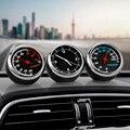 Мини автомобильные цифровые часы, автомобильные часы, автомобильные термометр, гигрометр, декоративные часы с орнаментом, автомобильные аксессуары - фото