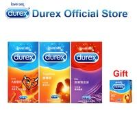 Buy 3 Get 1 Gift Durex Condoms Ultra Thin Condoms Super Fire Addicted Sex Toys Erotic