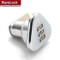 Rarelock Üçgen Modern Kod Kombinasyonu Çekmece Kilidi Yüksek Kalite Şifre Kutusu Kabine Cerradura c Için Güvenlik Kilitleri