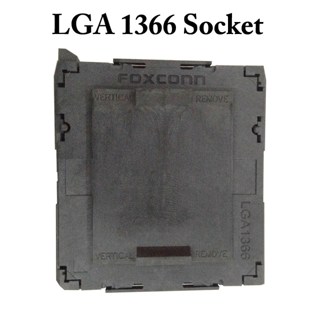 New Arrival LGA 1366 LGA1366 CPU socket Motherboard Mainboard Socket Soldering BGA Socket with Tin Balls PC DIY