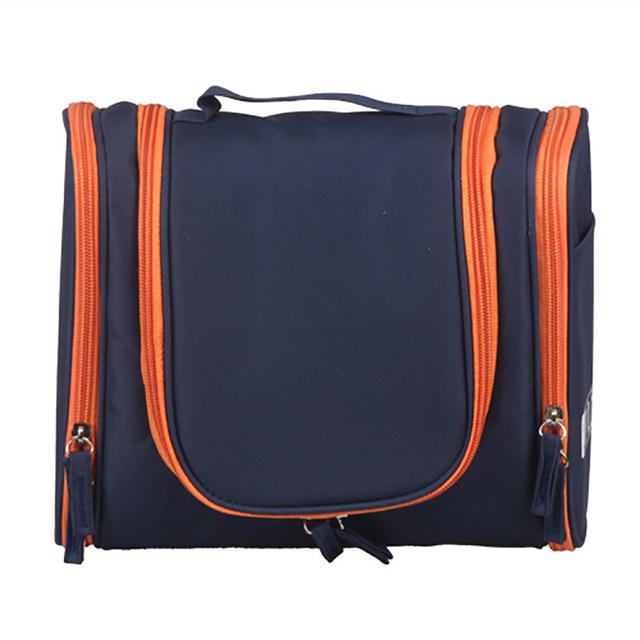 Alta calidad compone bolsos 2016 nuevas mujeres bolsillos de viaje multifuncionales portátiles cosméticos a prueba de agua de maquillaje bolsas de viaje bolso