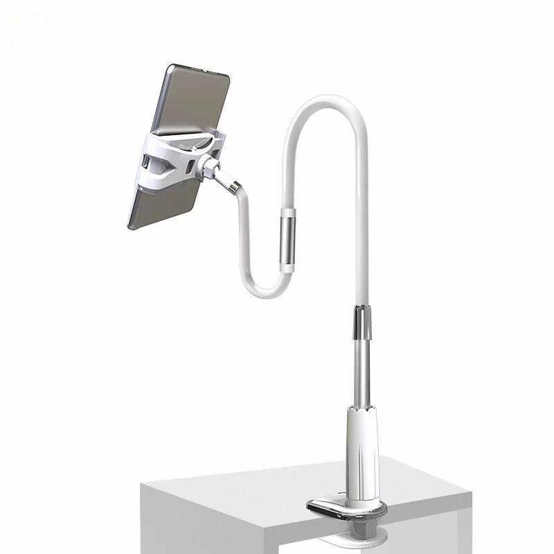 Держатель для планшета 130 см длинная рука кровать/зажим для стола Кронштейн для iPad стойки для планшета поддержка 4,0 дюймов до 10,6 дюймов планшетный ПК