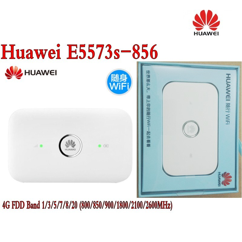HUAWEI E5573s-856 UNLOCKED Black LTE 4G & 3G Mobile MIFI WIFI Wireless router планшет digma plane 1601 3g ps1060mg black