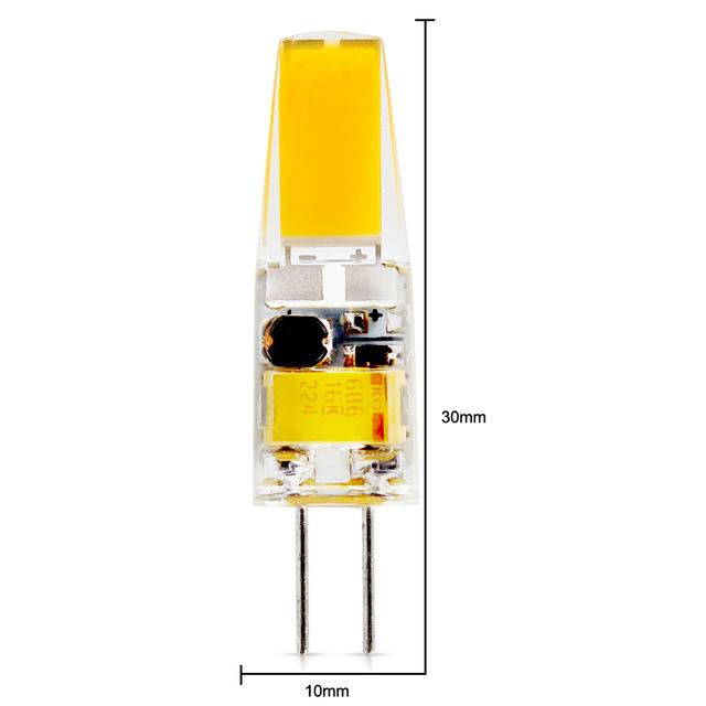 10Pcs/lot 2018 new G4 AC DC 12V Led Dimmable bulb Lamp SMD 6W  Replace halogen lamp light 360 Beam Angle luz lampada led