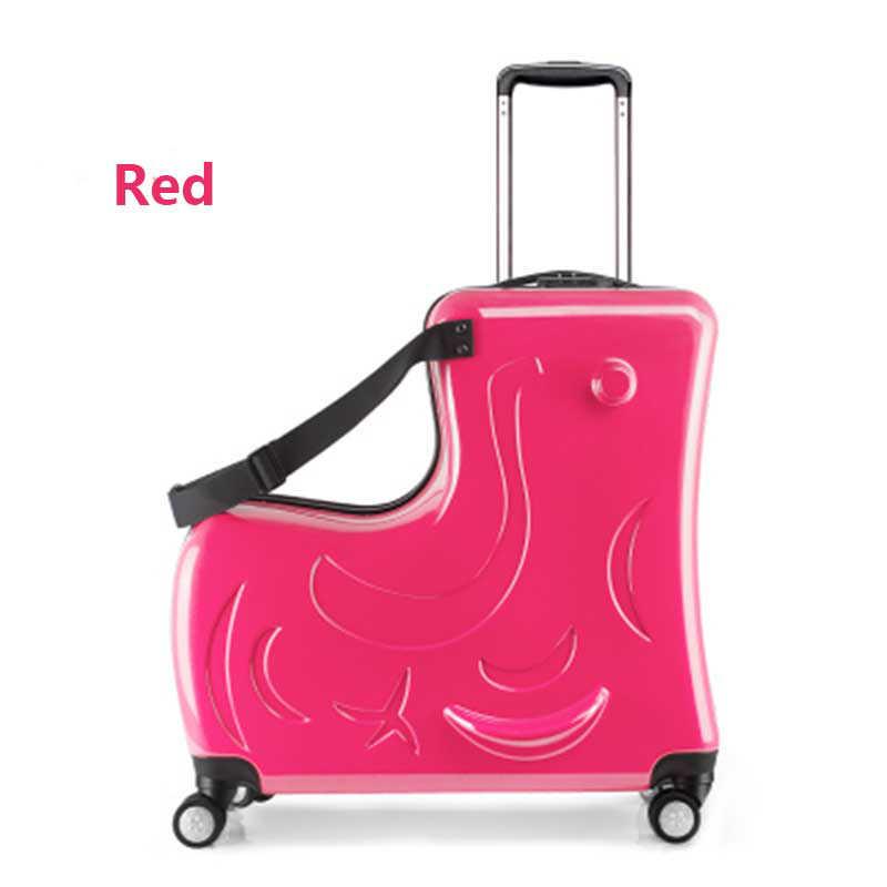 Новый детский багажный Спиннер 20 дюймов чемодан на колесиках детская тележка для каюты Студенческая дорожная сумка милая детская переноска на багажник