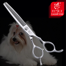 Fenice 6.5 inch Professional Pets Thinning Scissors Japan 440C Dogs Grooming Hair Cut Shears Stainless Steel