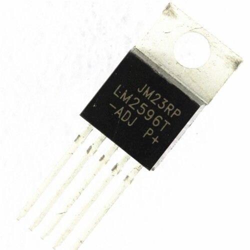 5 PCS IC LM2596T-ADJ LM2596 TO-220 Voltage Regulator 3A Adjustable NEW