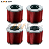4 Pcs Oil Filter Case For Yamaha YFM600FW Grizzly 4x4 YFM700R Raptor