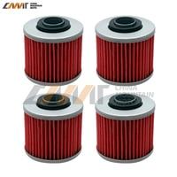 4 Pcs Oil Filter Case For Yamaha YFM600FW Grizzly 4x4 YFM700R Raptor