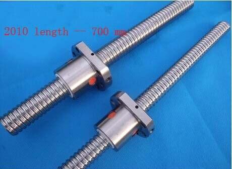 Здесь можно купить  Acme Screws Diameter 20 mm Ballscrew SFU2010 Pitch 10 mm Length 700 mm with Ball nut CNC 3D Printer Parts  Аппаратные средства