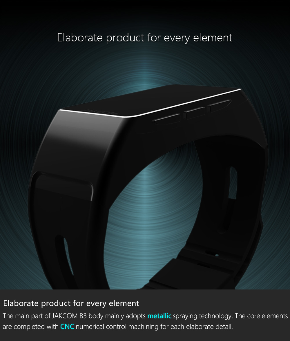 Jakcom B3 Smart Band New Product Of Wristba As Heart Rate Monitor Watch For Xiaomi Mi Band 2 Bracelet Talkband 2