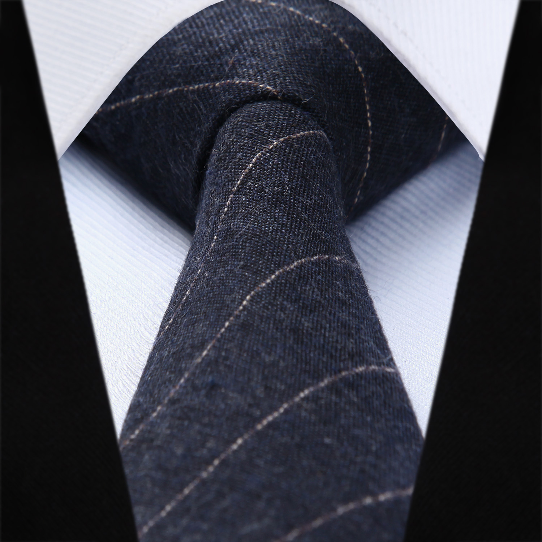 Woven Classic Men Tie Necktie  6cm Soild Striped 2.36
