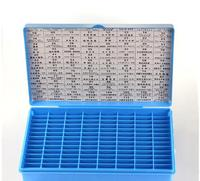 Folding Key Storage Box Blank Keys Plastic Box Total Have 112 Spaces Locksmith Tools Supplies