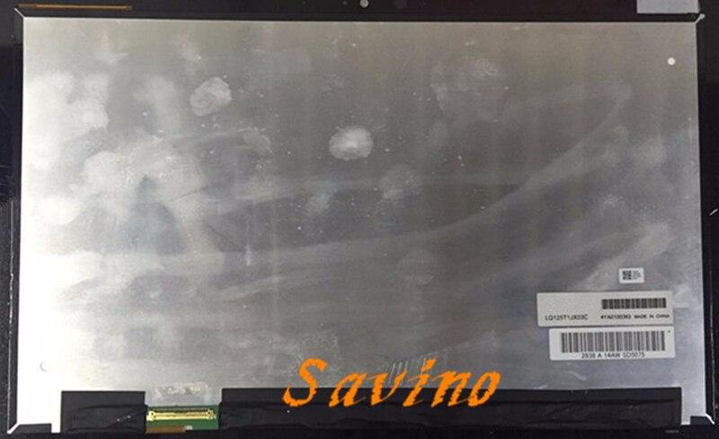 12.5 inch LQ125T1JX03 LCD screen for ASUS Book T300 Chi Transformer HD 2560*1440 a-Si TFT-LCD