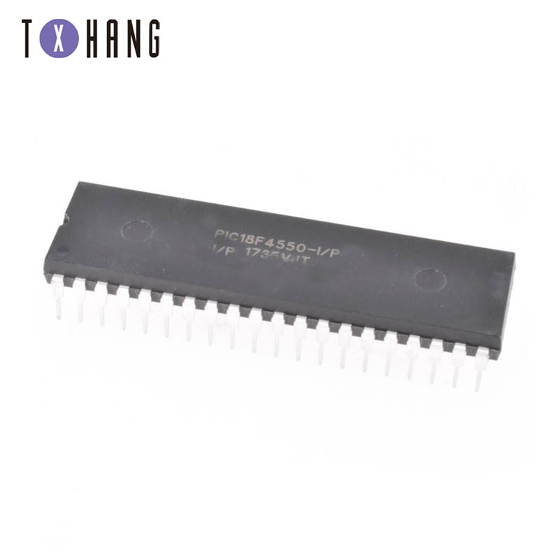 PIC18F4550-I/P PIC18F4550 18F4550 USB Microcontrollers DIP40 IC PIC MCU FLASH 16KX16 NEW 1PCSPIC18F4550-I/P PIC18F4550 18F4550 USB Microcontrollers DIP40 IC PIC MCU FLASH 16KX16 NEW 1PCS