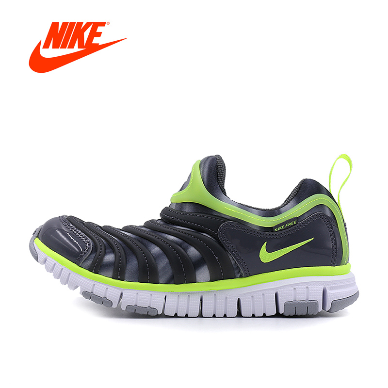 Original New Arrival 2017 NIKE DYNAMO FREE PRINT Children Boys Shoes Sneakers