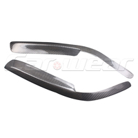 Corolla Carbon Fiber Car Styling Headlight Eyelid Eyebrows Cover Trim Sticker for Toyota Corolla 1991 1995