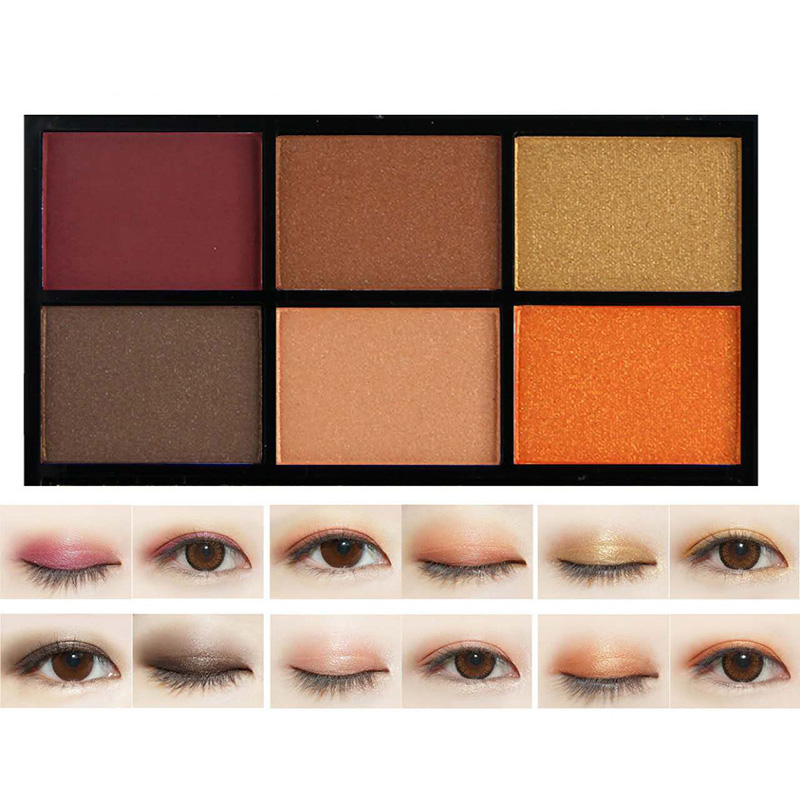 Lower Price with Novo Four-color Eye Shadow Ai Mei Li Pattern True Color Bright Smoke Makeup Earth Color Waterproof Pearl Matte Beauty & Health Eye Shadow